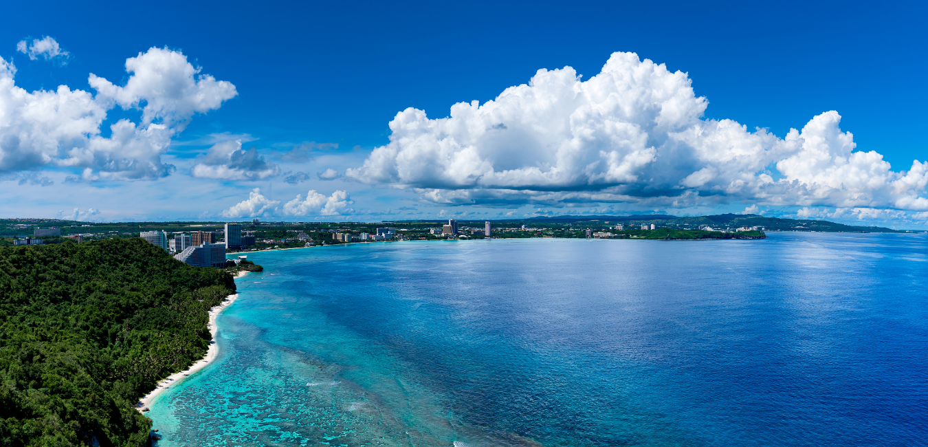 guam background for Market Research and Development - Guam and Micronesia - full spectrum of premium marketing, strategic planning, and research services.